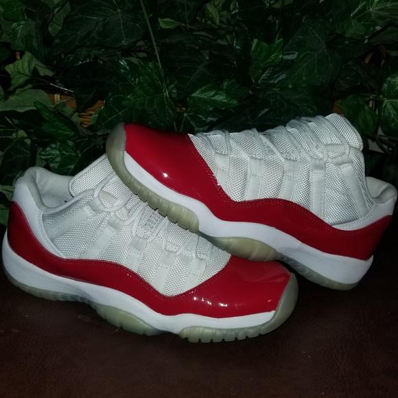 separation shoes 27919 42491 ❤~NIKE AIR JORDAN RETRO 11 LOW CHERRY RED~❤